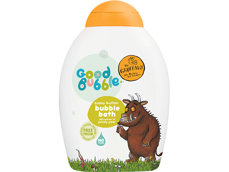 Gruffalo Bubble Bath with Prickly Pear Extract 400ml - Meats And Eats