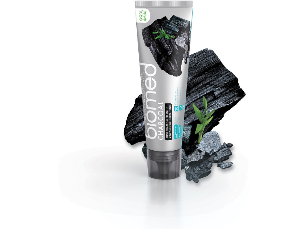 Biomed Charcoal Toothpaste - Meats And Eats