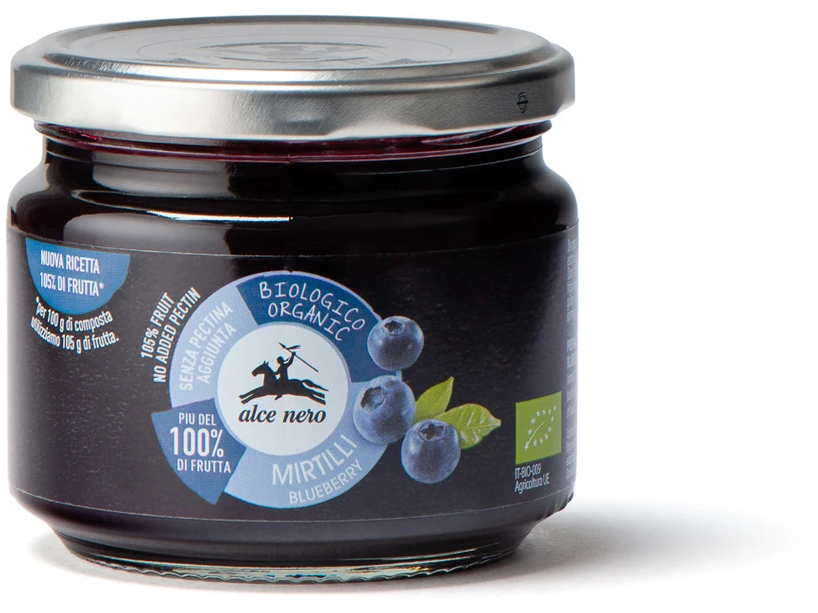 Organic blueberry spread - CF836 270g - Meats And Eats