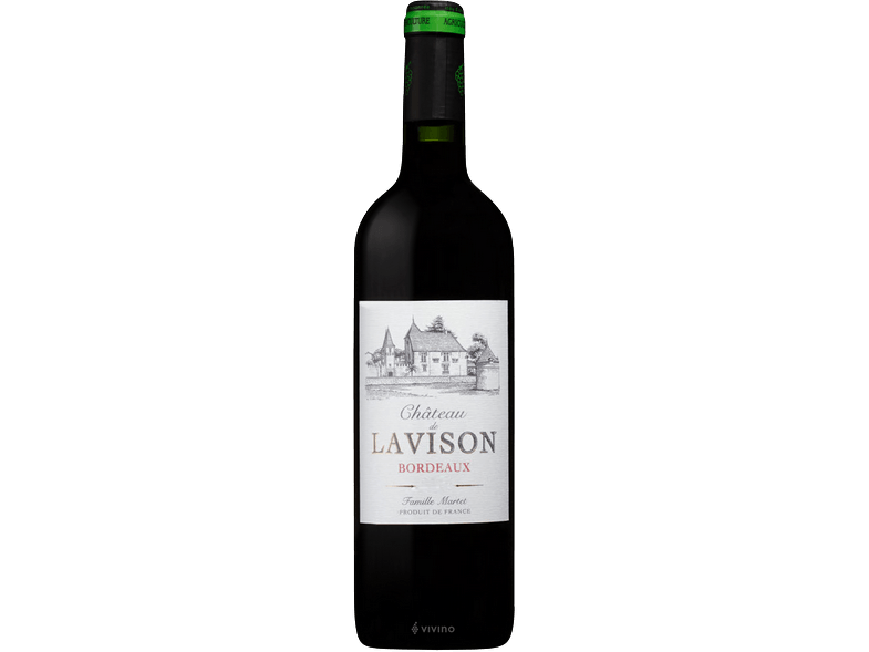 Chateau La Vison – Bordeaux Organic [2018] - Meats And Eats
