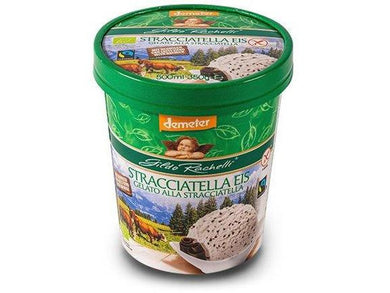Organic Stracciatella Ice Cream 350gr/500ml - Meats And Eats