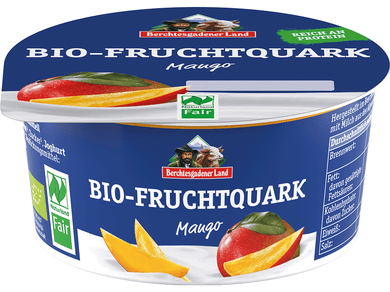 Organic  Quark with Mango, 10% fat - Meats And Eats
