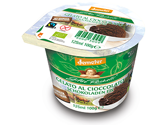 Organic Chocolate Ice Cream 100g - Meats And Eats