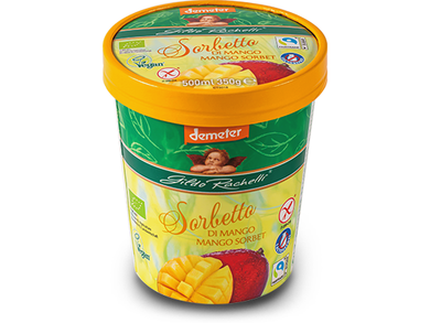 Mango Sorbet 350 g / 500 ml - Meats And Eats