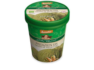Organic Pistachio Ice Cream 350gr/500ml - Meats And Eats