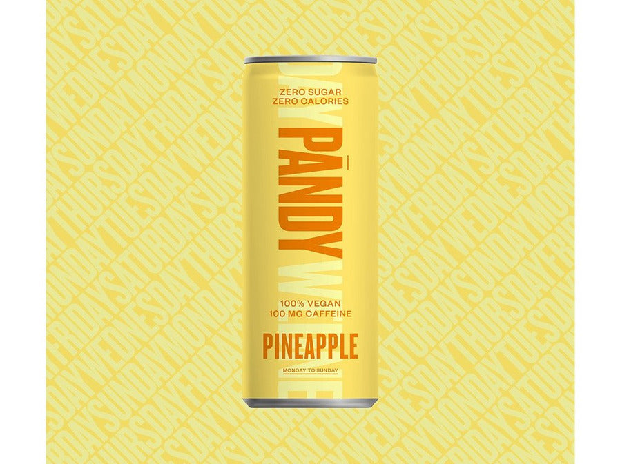 Pandy Energy Drink - Pineapple - Meats And Eats