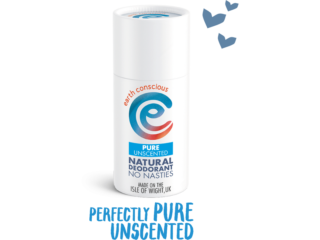 Earth Conscious Deo Pure No Nasties - 60g - Meats And Eats