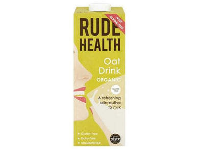 Rude Health Foods Oat Drink Organic - 1lt - Meats And Eats