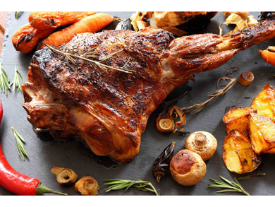 Frozen lamb leg (1 piece ) AROUND 2KG would cost you €35 - Meats And Eats