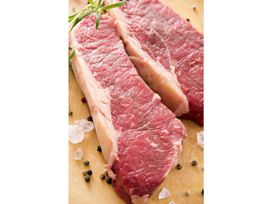 Fresh Charolais beef sirloin / sliced - Meats And Eats