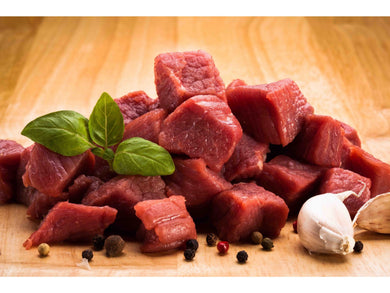 Fresh Charolais beef rump /diced - Meats And Eats