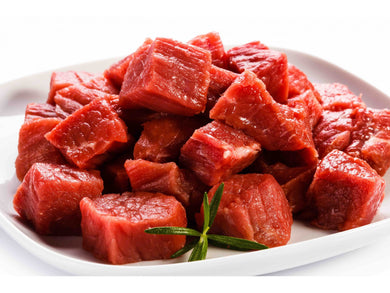 Fresh Diced Beef Knuckle - Meats And Eats