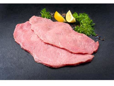 Fresh Milk Fed Veal topside /sliced - Meats And Eats