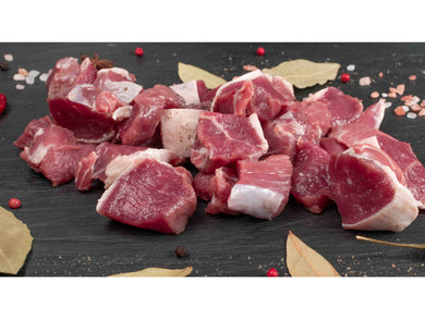 Fresh Charolais  beef sirloin diced - Meats And Eats
