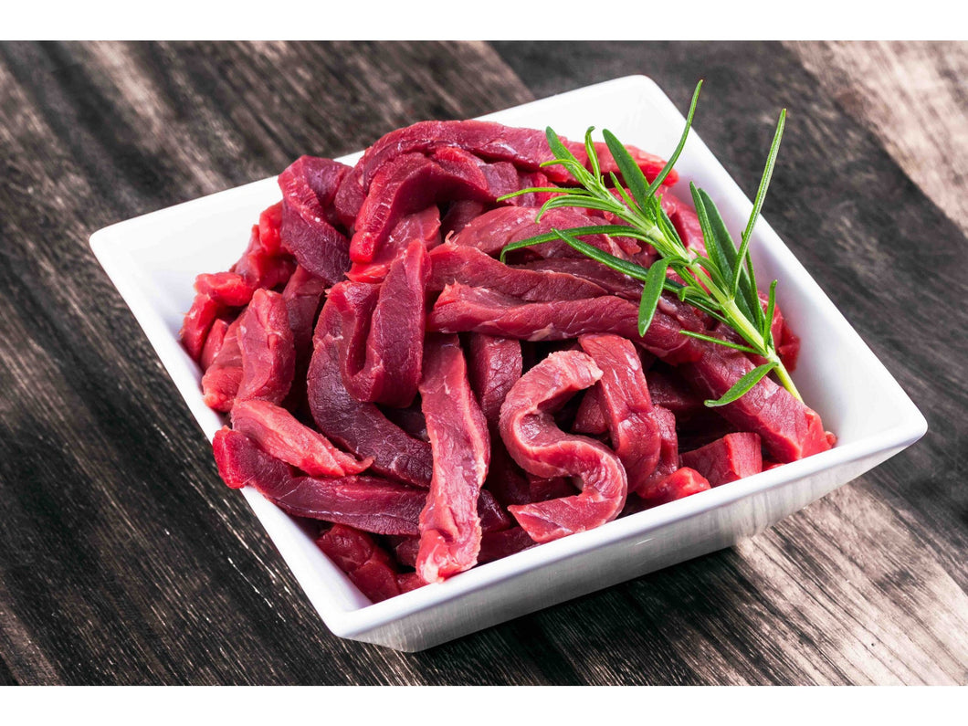 Fresh knuckle cut into strips (ideal for stir fry) - Meats And Eats