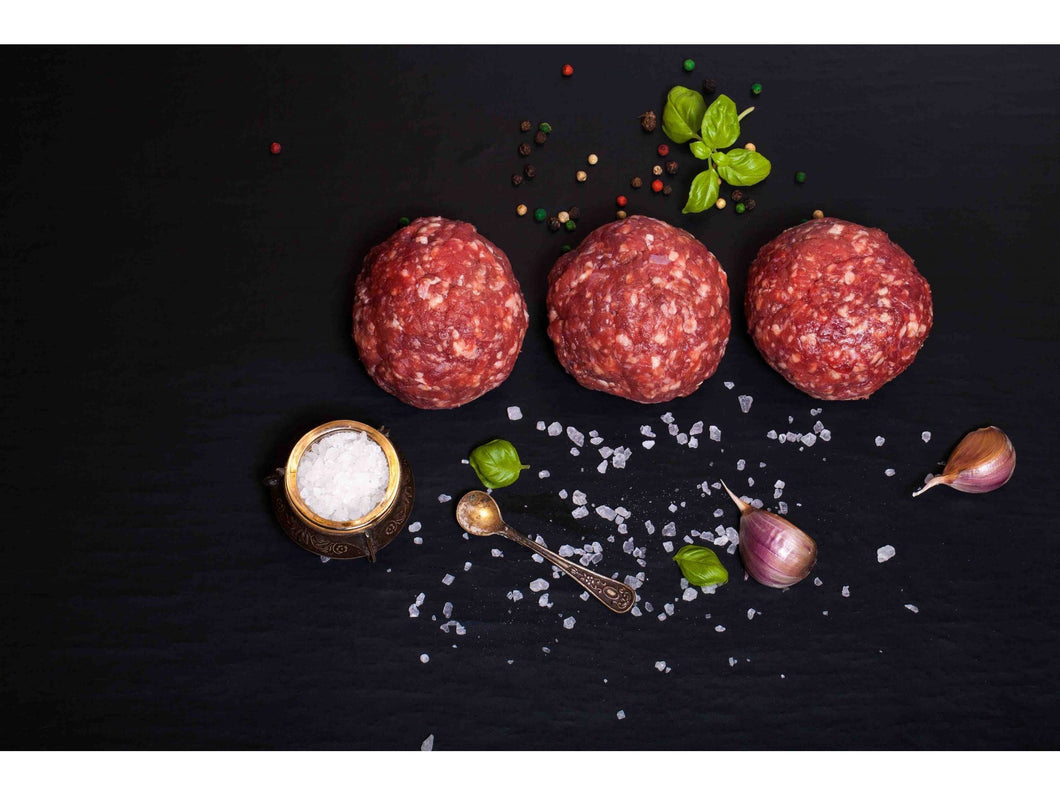 Fresh organic beef meatball x50g - Meats And Eats