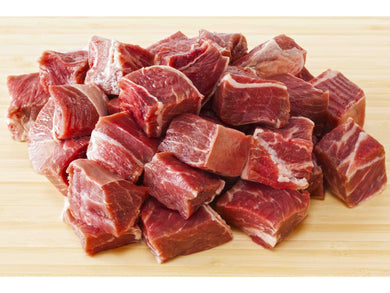 Fresh Cubed  grass fed beef chuck (ideal for stew or curry dishes) - Meats And Eats