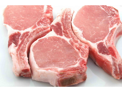Fresh local pork chops - Meats And Eats