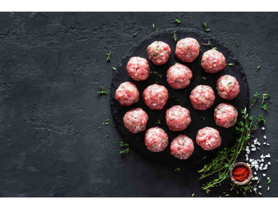 Fresh veal meatballs x50g - Meats And Eats