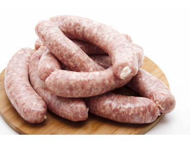 Fresh pork sausage with parmesan - Meats And Eats