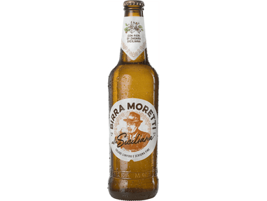 Birra Moretti - Siciliana Beer 55cl - Meats And Eats