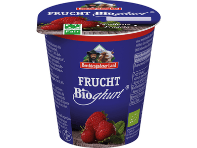 Organic strawberry yoghurt, 3,9% fat, 150g - Meats And Eats