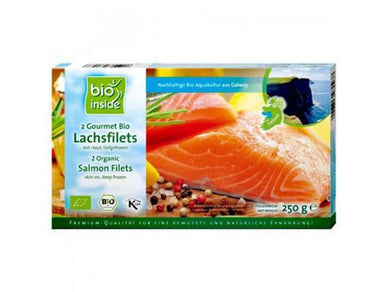 Organically Farmed salmon ( 2 portions) - Meats And Eats