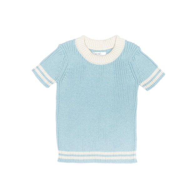 BLUE & NATURAL MIKE TOP
