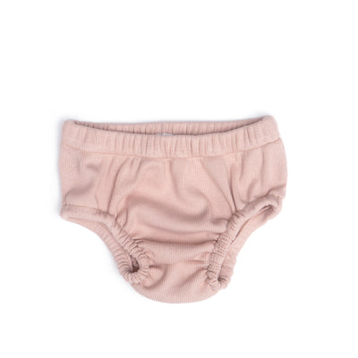 SHELL PINK RIBBED BLOOMER