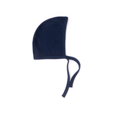 NAVY RIBBED BONNET