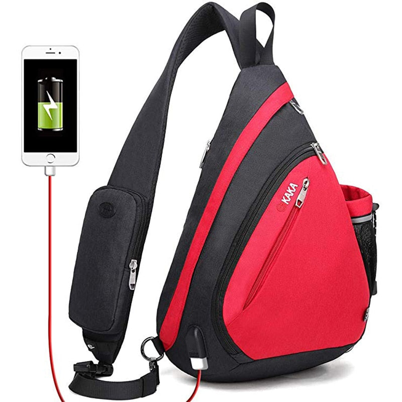 Shoulder Bags with USB Charge