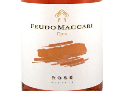 Feudo Maccari Rose' 2016 [Full 12pk Case]