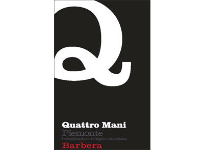 Quattro Mani Barbera 2014 [Full 12pk Case]