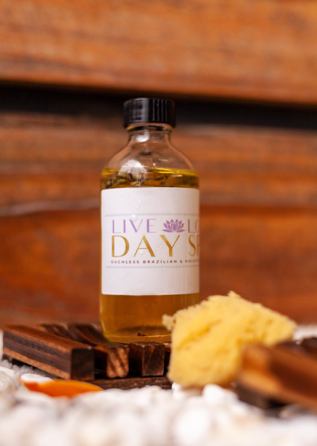 Lavender infused body oil