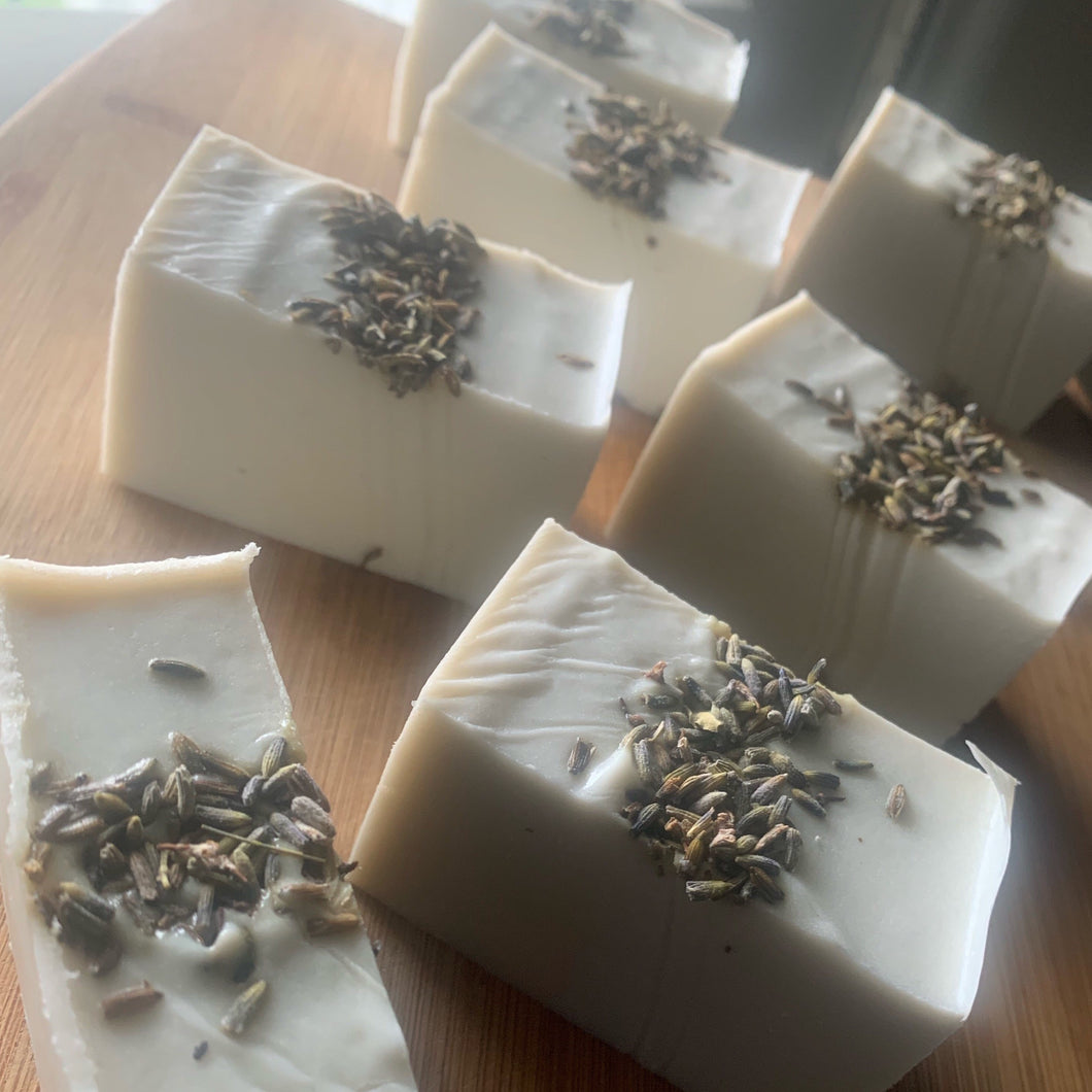 Lavender and Coconut Milk   Bar