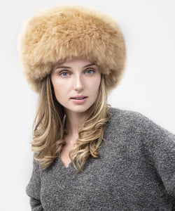 Alpaca Fur Hat Camel - Be ALPACA