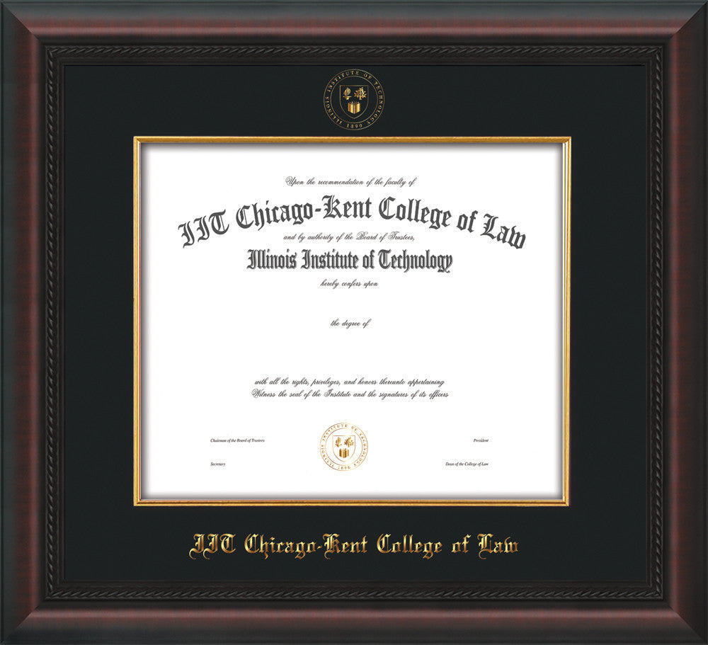 Chicago-Kent College of Law Seal Fillet