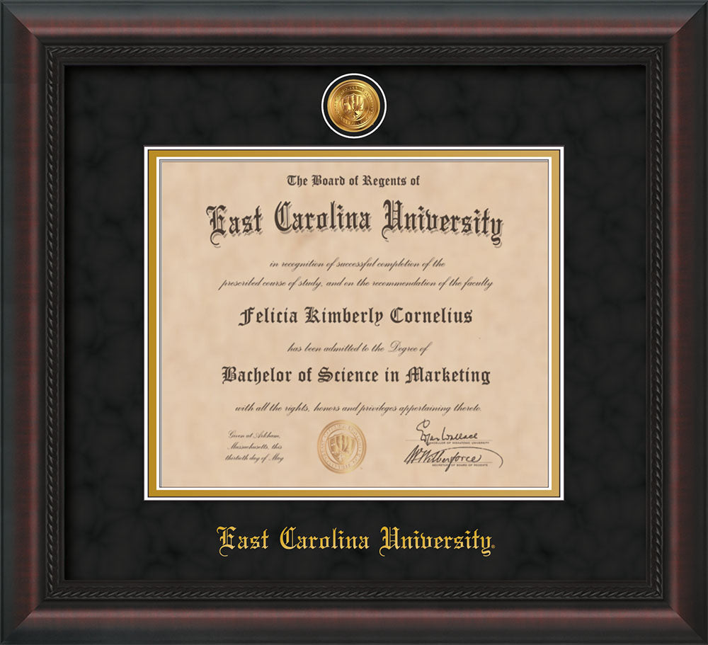 East Carolina University Medallion Single Opening