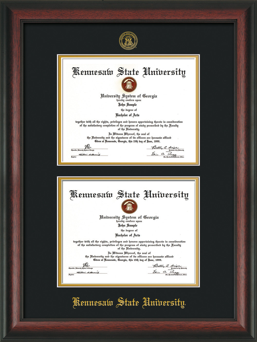 Kennesaw State University Double Diploma