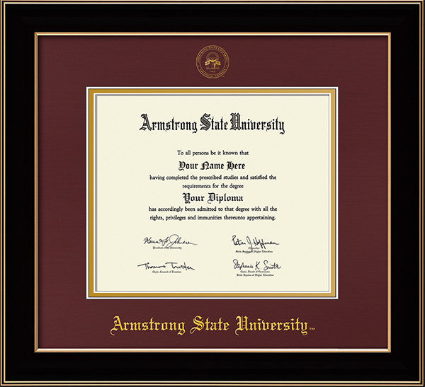 Armstrong State University Seal Single Opening