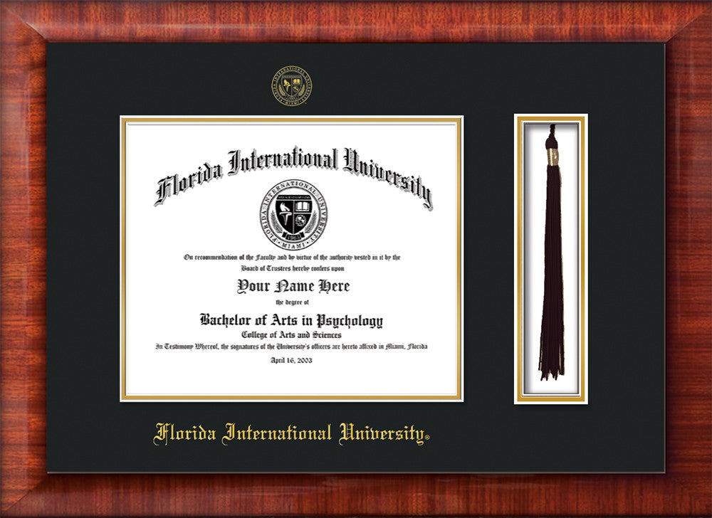 Florida International University Seal Tassel Holder