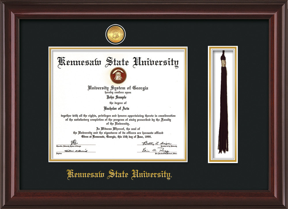 Kennesaw State University Medallion Tassel Holder