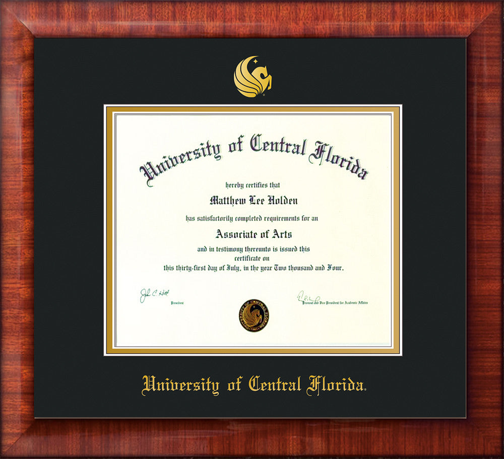 University of Central Florida Seal Single Opening