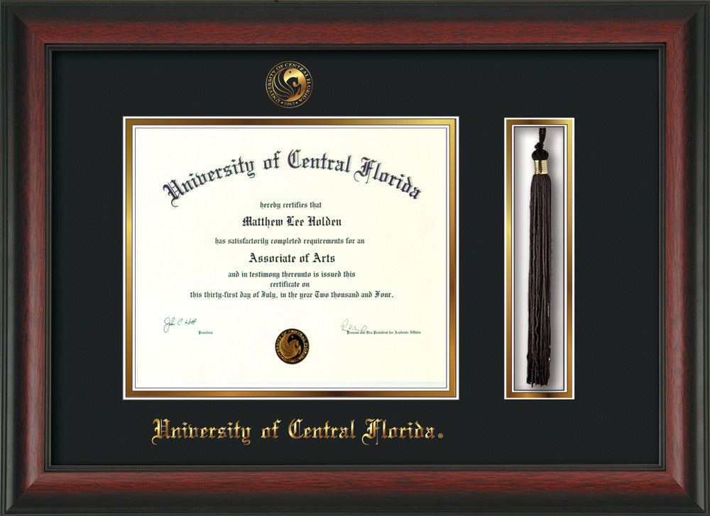 University of Central Florida Seal Tassel Holder