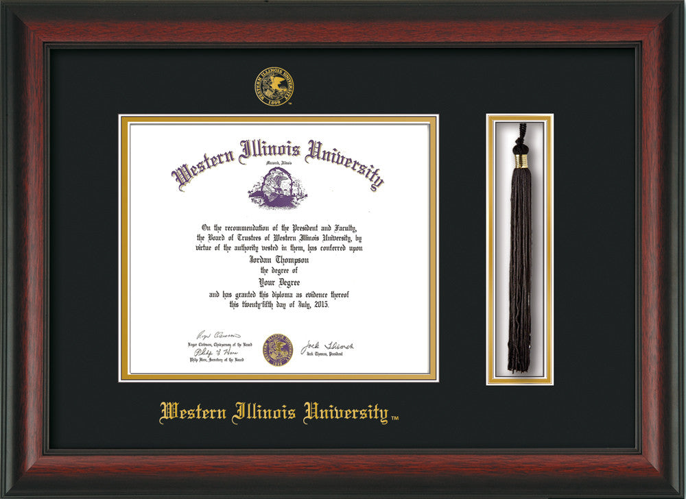 Western Illinois University Seal Tassel Holder