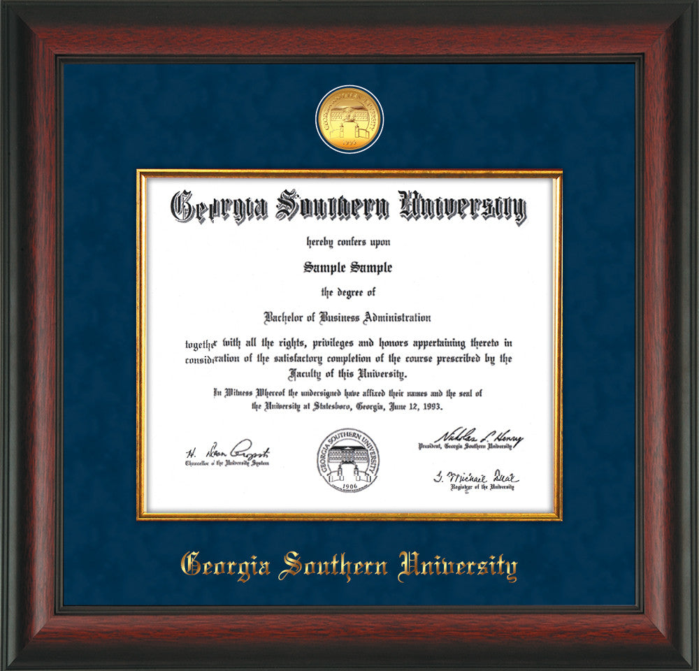 Georgia Southern University Medallion Fillet