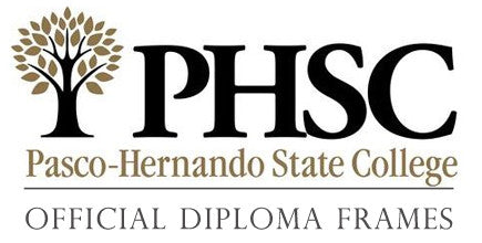 Pasco-Hernando State College Diploma Frames