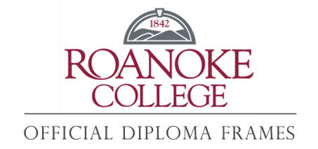 Roanoke College Diploma Frames