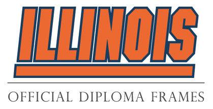 University of Illinois Diploma Frames