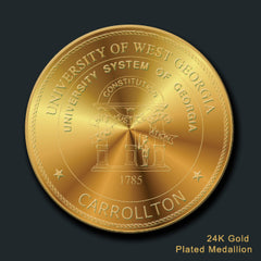 University of West Georgia medallion with UNG seal